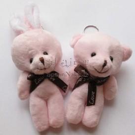 عروسک خرس و خرگوش در 6رنگ