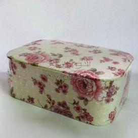 جعبه خیاطی طرح گل صدتومانی