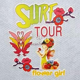 برچسب اتویی _ Flower Girl
