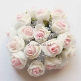 گل فومی دو رنگ