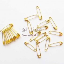 سنجاق قفلی کوچک طلایی