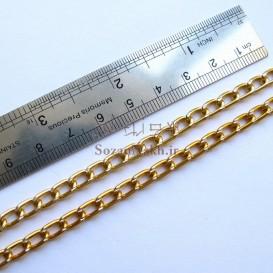 زنجیر لباس ساده در دو رنگ