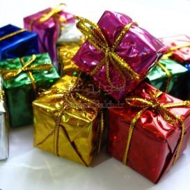 جعبه های کادوی تزیینی طرح دار _ بسته 12 تایی