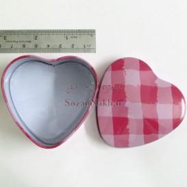 قوطی فلزی قلب کد 1