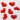 قلب پارچه ای