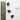 چشم عروسک  سفید با مژه مشکی
