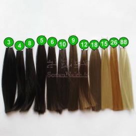 موی عروسک صاف 25 سانتی (مارک گیسو)