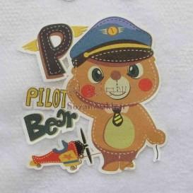 برچسب اتویی _Pilot Bear