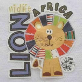برچسب اتویی _Lion Africa