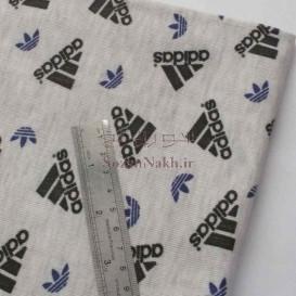 پارچه تریکو چاپی طرح آدیداس Adidas