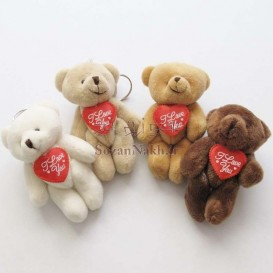 عروسک خرس I Love U
