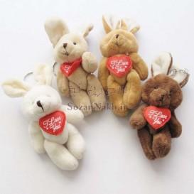 عروسک خرگوش I Love U