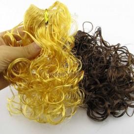موی عروسک فر 20 سانتی کلاسیک
