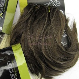 موی عروسک حالت دار بافت دار  15 سانتی مارک Socap