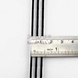 لژ کفش لاستیکی طرح شیاردار عرض 12