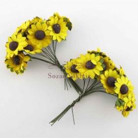 گل آفتابگردان کاغذی
