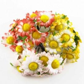 گل بابونه پارچه ای