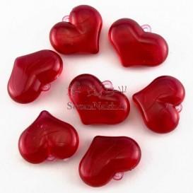 قلب کریستال آویز