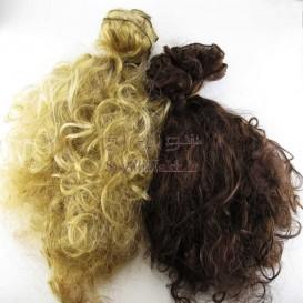 موی عروسک 35 سانتی فر پریشان (باز شده از کلاه گیس)