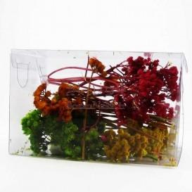 گل خشک رنگ شده مخصوص رزین _ کد 1 (گل چتری)