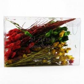 گل خشک رنگ شده مخصوص رزین _ کد 2 (گل تلخک)