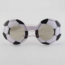 عینک پلاستیکی عروسکی فوتبالی