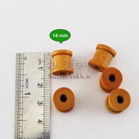 بوبین چوبی کوچک رنگی