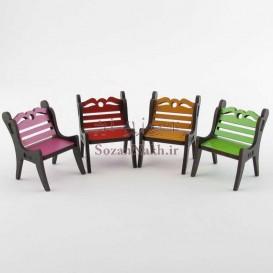 صندلی چوبی کوچک
