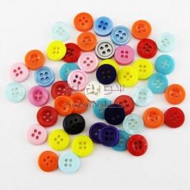دکمه رنگی (چهار سوراخه)