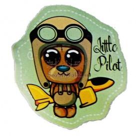 برچسب اتویی _ خلبان Little Pilot کد 15