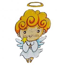 برچسب اتویی _ فرشته و ستاره کد 18