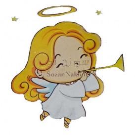 برچسب اتویی _ فرشته و شیپور کد 19
