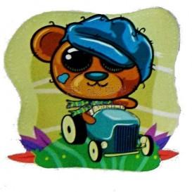 برچسب اتویی _ خرس و ماشین کد 25