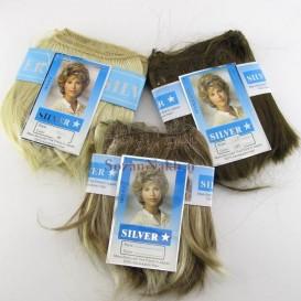 موی عروسک 15 سانتی Silver Pack (باز شده از کلاه گیس)