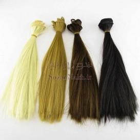 موی عروسک صاف 25 سانتی Yuan (یوان)