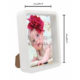 قاب عکس باکس لبه گرد ترنج  20×15 سانتیمتر