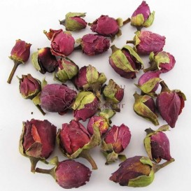 غنچه گل سرخ (رز) کوچک خشک