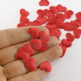 قلب ریز پارچه ای
