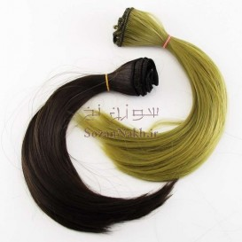 موی عروسک پایین حالتدار 25 سانتی Yuan (یوان)