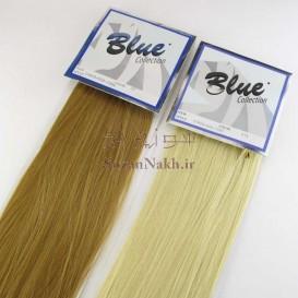 موی عروسک صاف 50 سانتی Blue