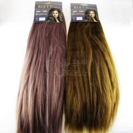 موی عروسک 45 سانتی صاف حجم دار Sixty