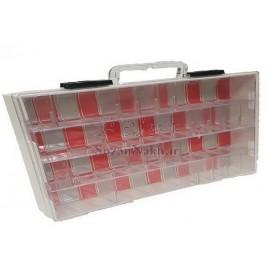 جعبه کیفی قطعات قابل حمل یک طبقه