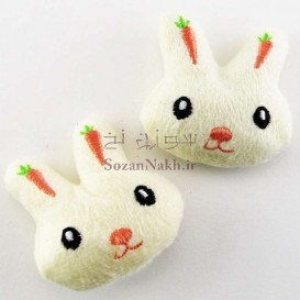 صورتک خرگوش هویجی