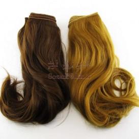 موی عروسک پایین حالت دار پوش 25 سانتی