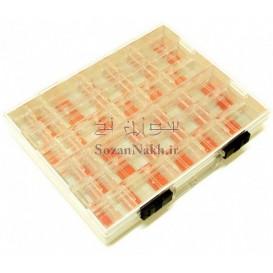 جعبه کیفی قطعات قابل حمل دو طبقه