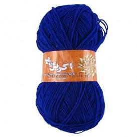 کاموا اکریل تاب (پوپی) آبی شالی _ کد 249