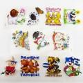برچسب اتویی _ پکیج برچسب عروسکی کد 94 حیوانات خندان و آدم برفی