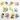 برچسب اتویی _ پکیج برچسب عروسکی کد 97 دختر و پسر ژاپنی ، دلفین