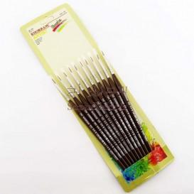 قلم مو گرد خرم شماره 00 (دو صفر)