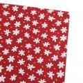 پارچه کتان نخ فیلور گل ستاره ای _ کد 365